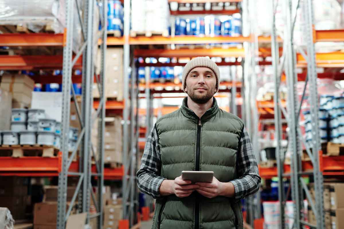 Management Liability Insurance - man in warehouse