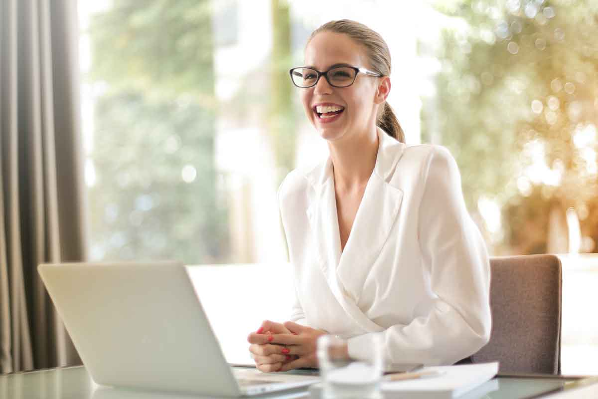Management Liability Insurance - Woman in Office