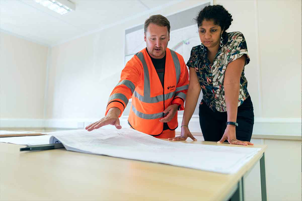 mining contractors insurance - engineer planning